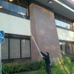 Commercial window cleaning image